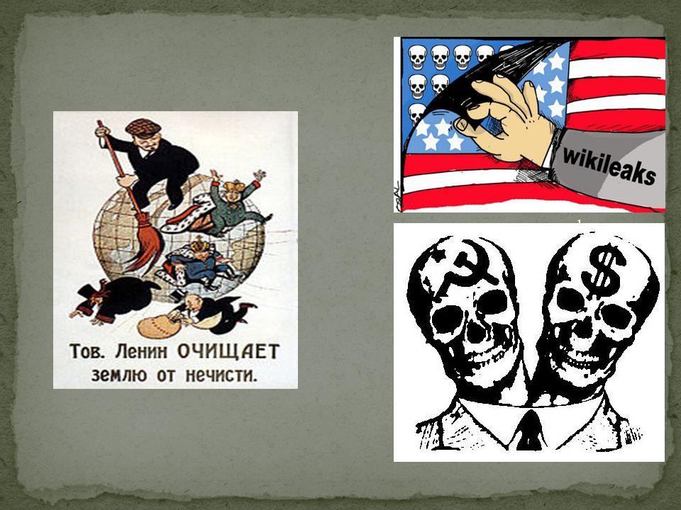 A FORÇA DA PROPAGANDA Para ridiculizar o inimigo, os dois lados usavam muito a força da propaganda.