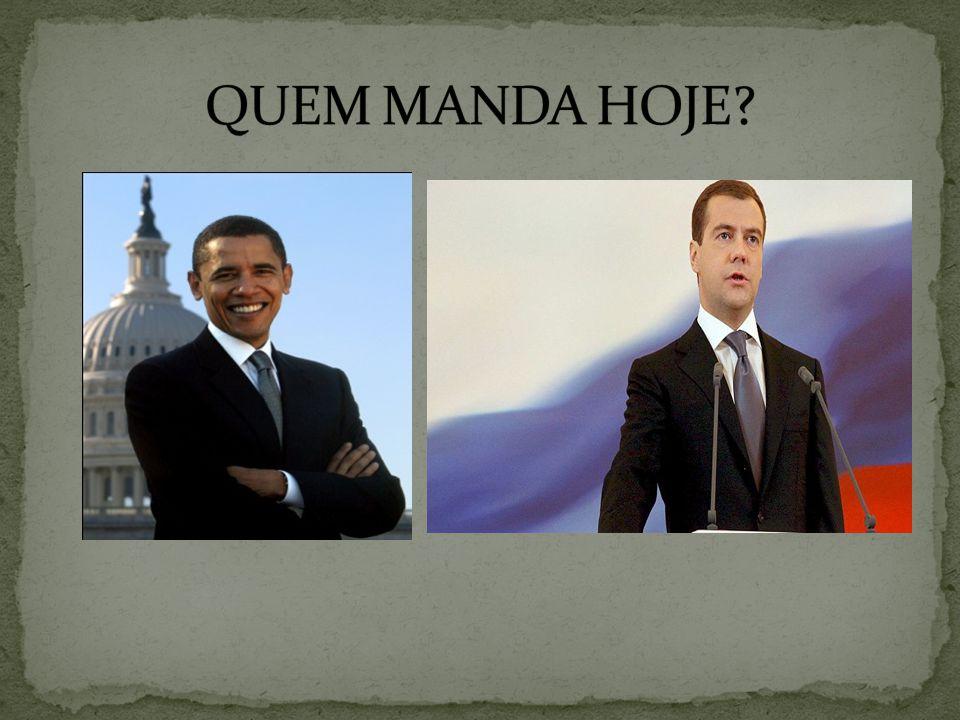 QUEM MANDA HOJE