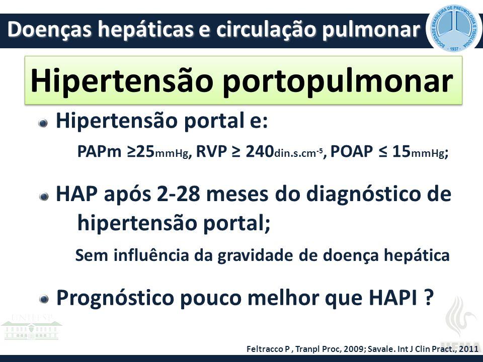 Hipertensão portopulmonar