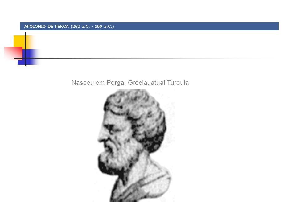 APOLONIO DE PERGA (262 a.C. - 190 a.C.)