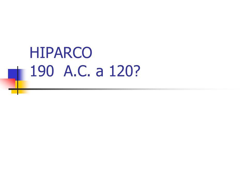 HIPARCO 190 A.C. a 120
