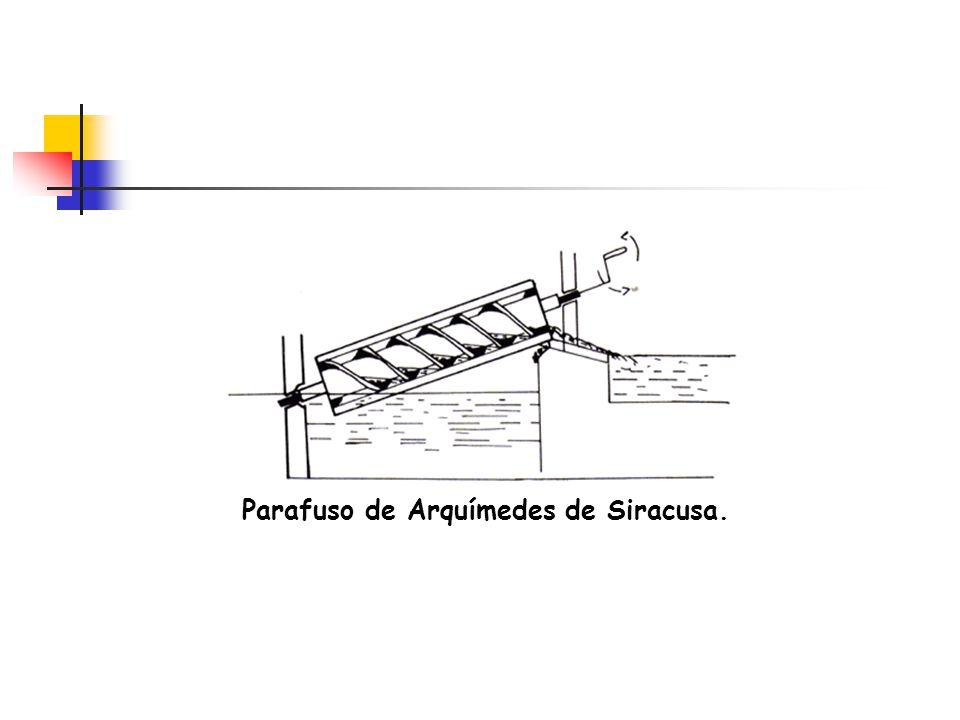 Parafuso de Arquímedes de Siracusa.