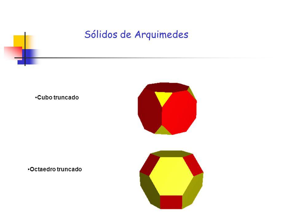 Sólidos de Arquimedes Cubo truncado Octaedro truncado