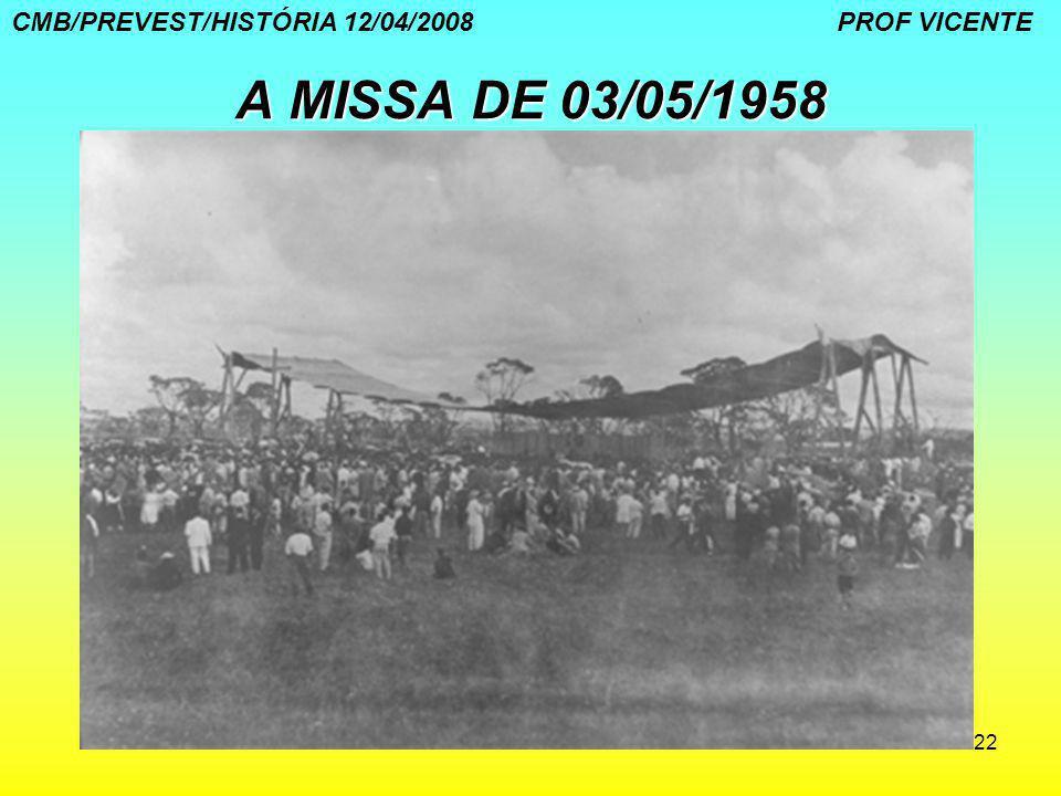 CMB/PREVEST/HISTÓRIA 12/04/2008 PROF VICENTE