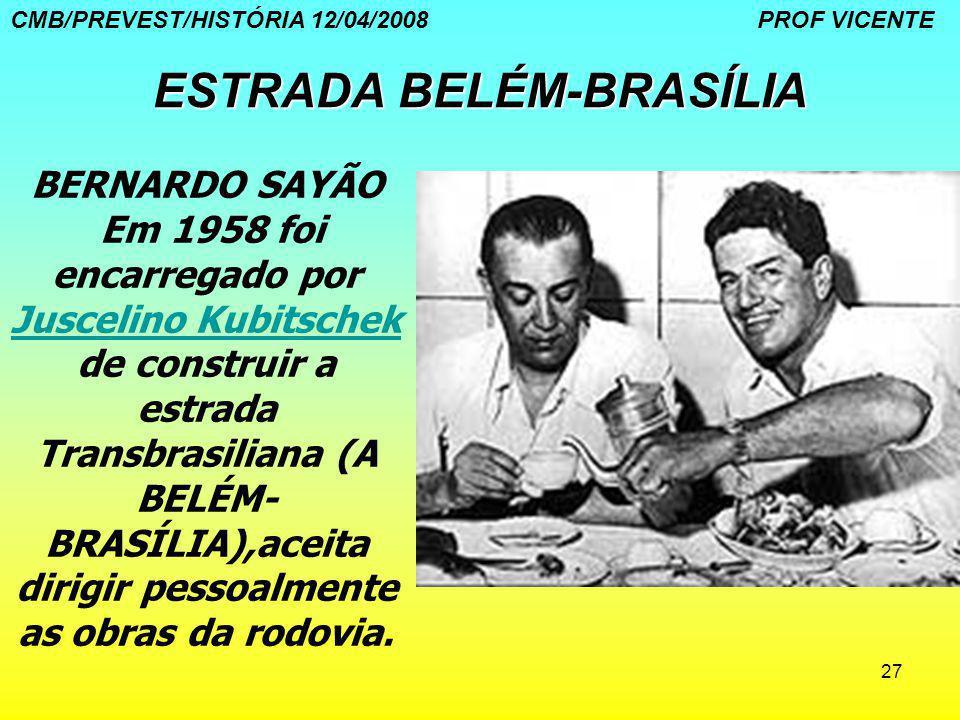 ESTRADA BELÉM-BRASÍLIA
