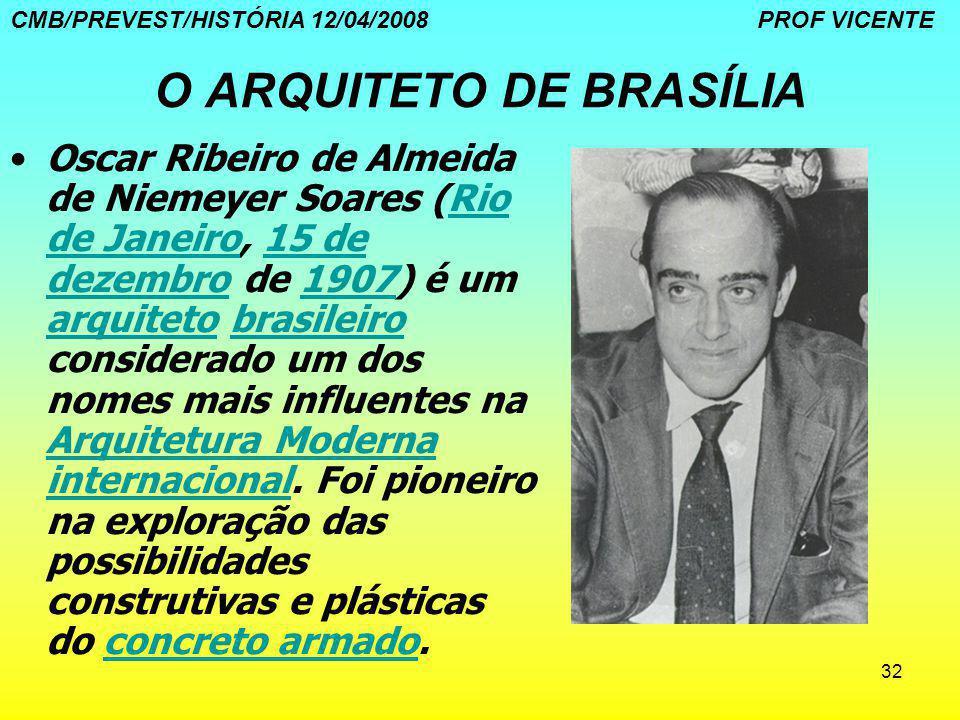 O ARQUITETO DE BRASÍLIA