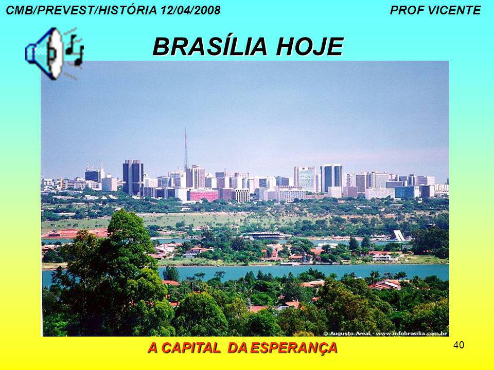 BRASÍLIA HOJE A CAPITAL DA ESPERANÇA