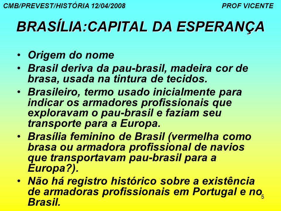 BRASÍLIA:CAPITAL DA ESPERANÇA
