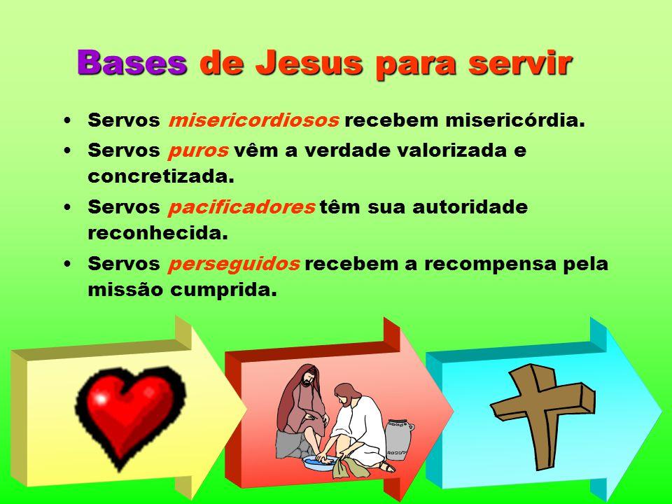 Bases de Jesus para servir