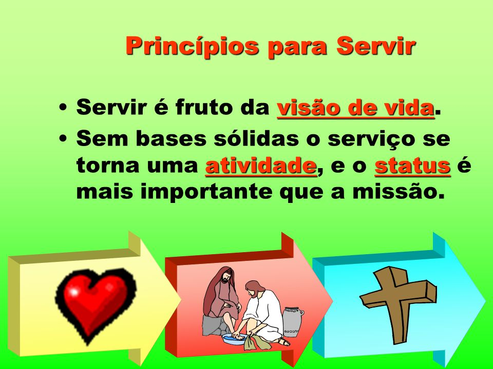 Princípios para Servir