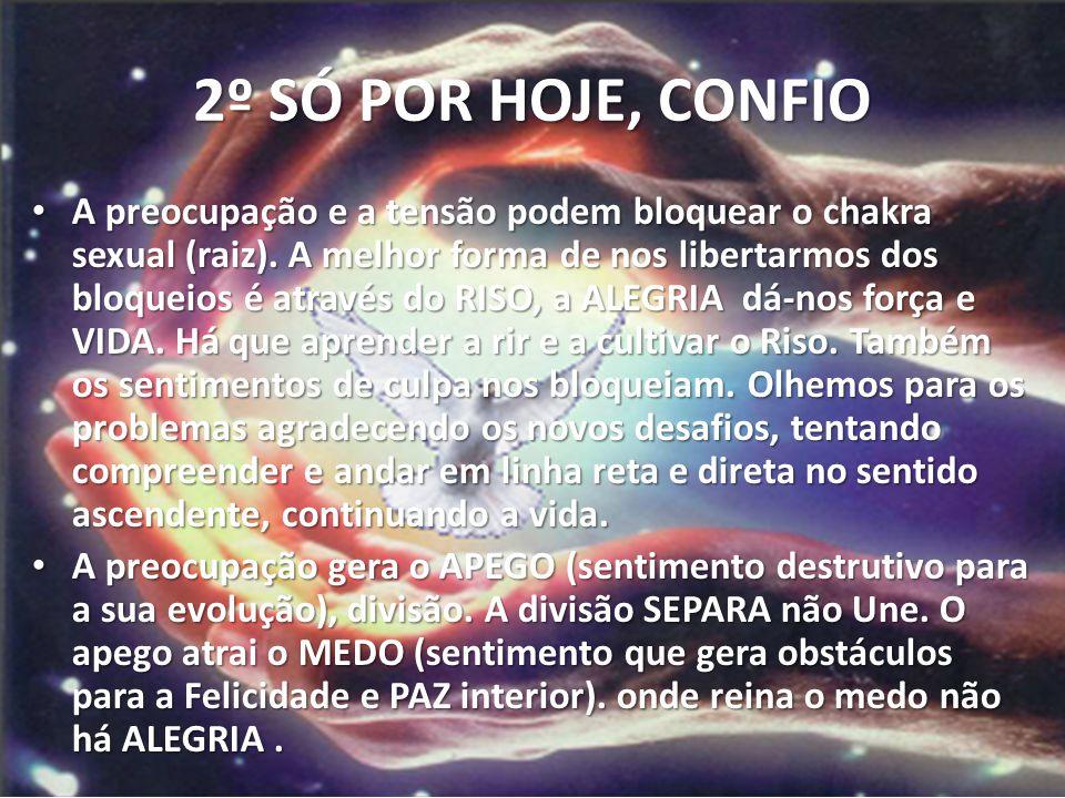2º SÓ POR HOJE, CONFIO