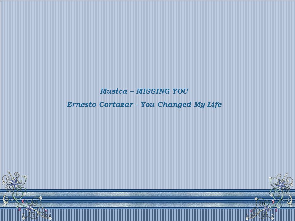 Ernesto Cortazar - You Changed My Life