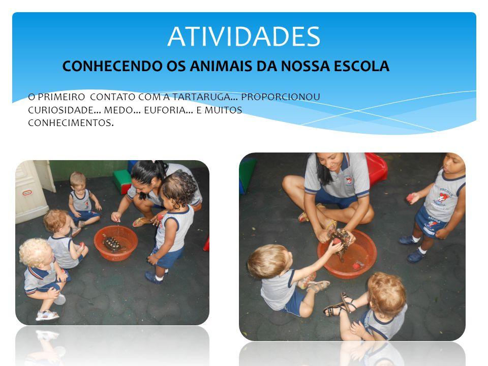 ATIVIDADES CONHECENDO OS ANIMAIS DA NOSSA ESCOLA