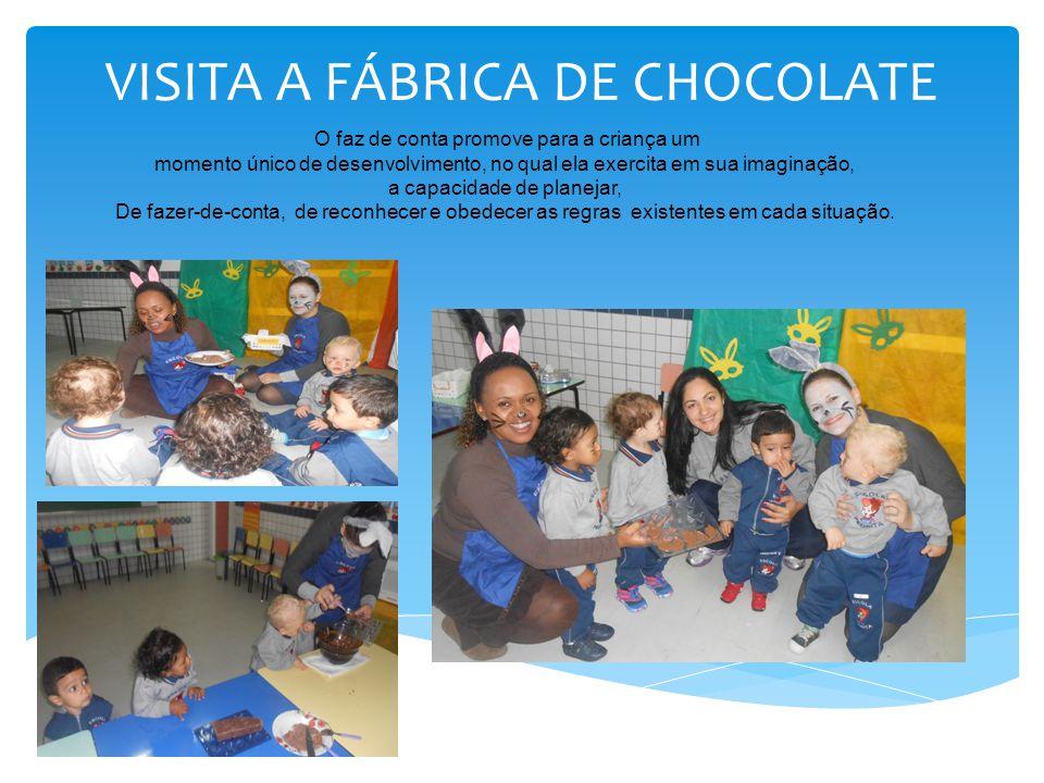 VISITA A FÁBRICA DE CHOCOLATE