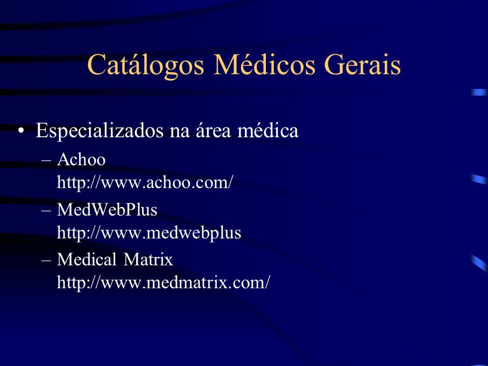 Catálogos Médicos Gerais