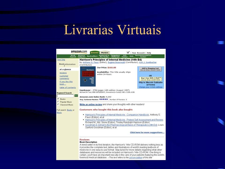Livrarias Virtuais
