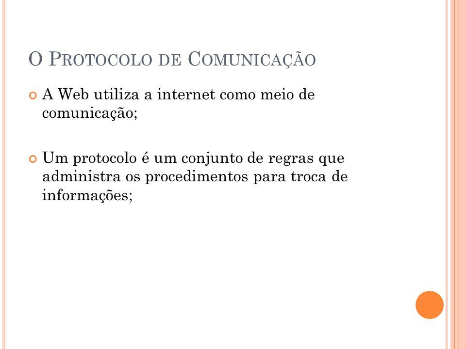 O Protocolo de Comunicação