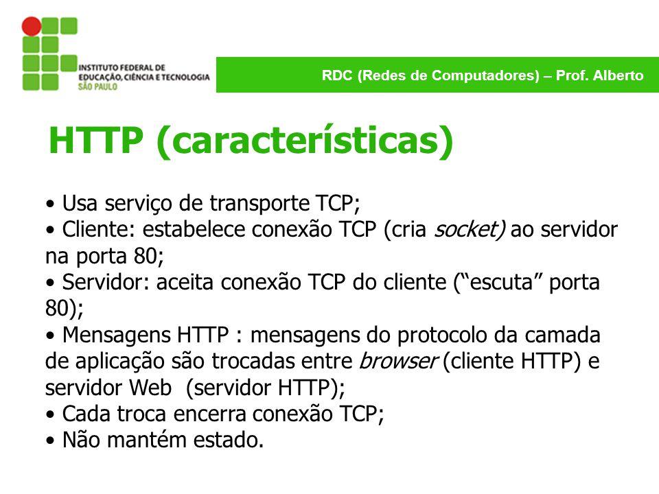 HTTP (características)