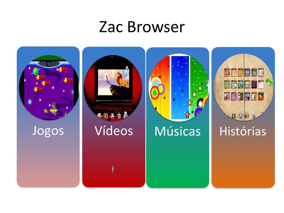 Zac Browser Jogos Vídeos Músicas Histórias
