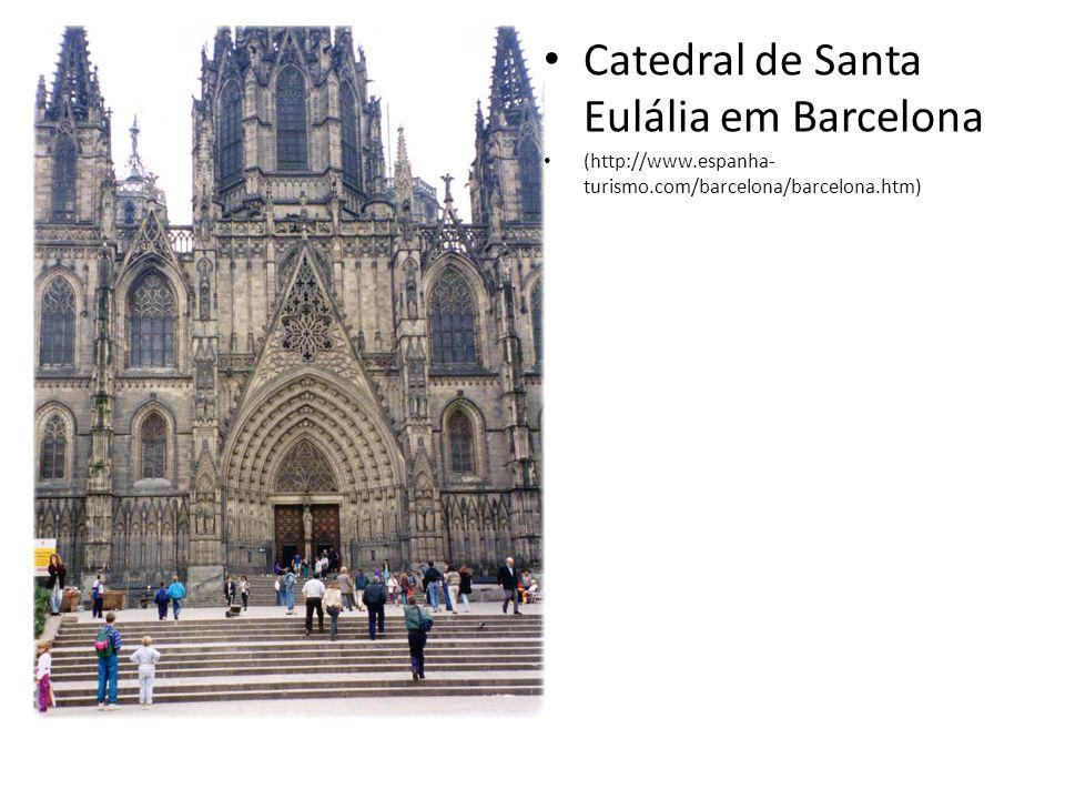 Catedral de Santa Eulália em Barcelona