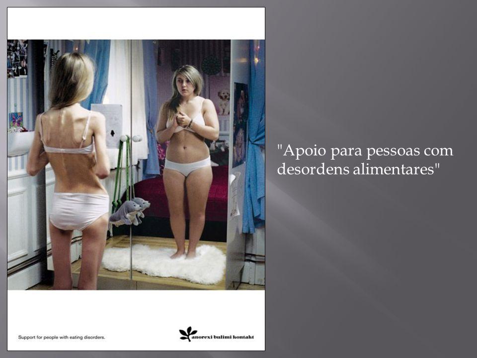 Apoio para pessoas com desordens alimentares
