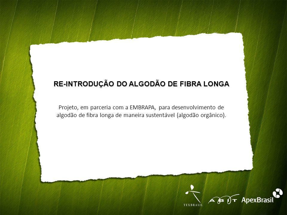 RE-INTRODUÇÃO DO ALGODÃO DE FIBRA LONGA