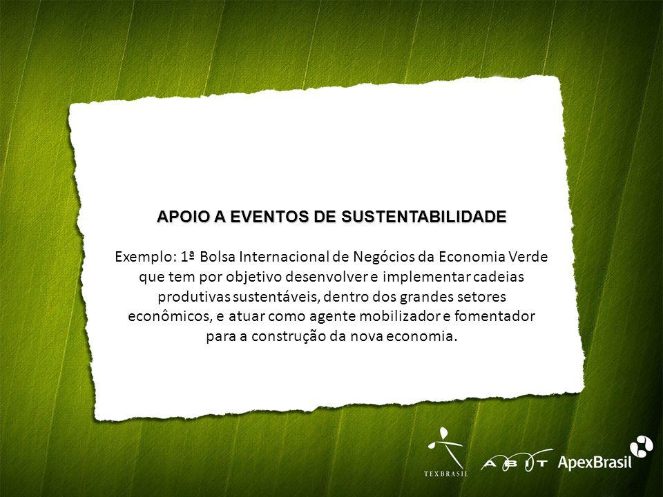 APOIO A EVENTOS DE SUSTENTABILIDADE