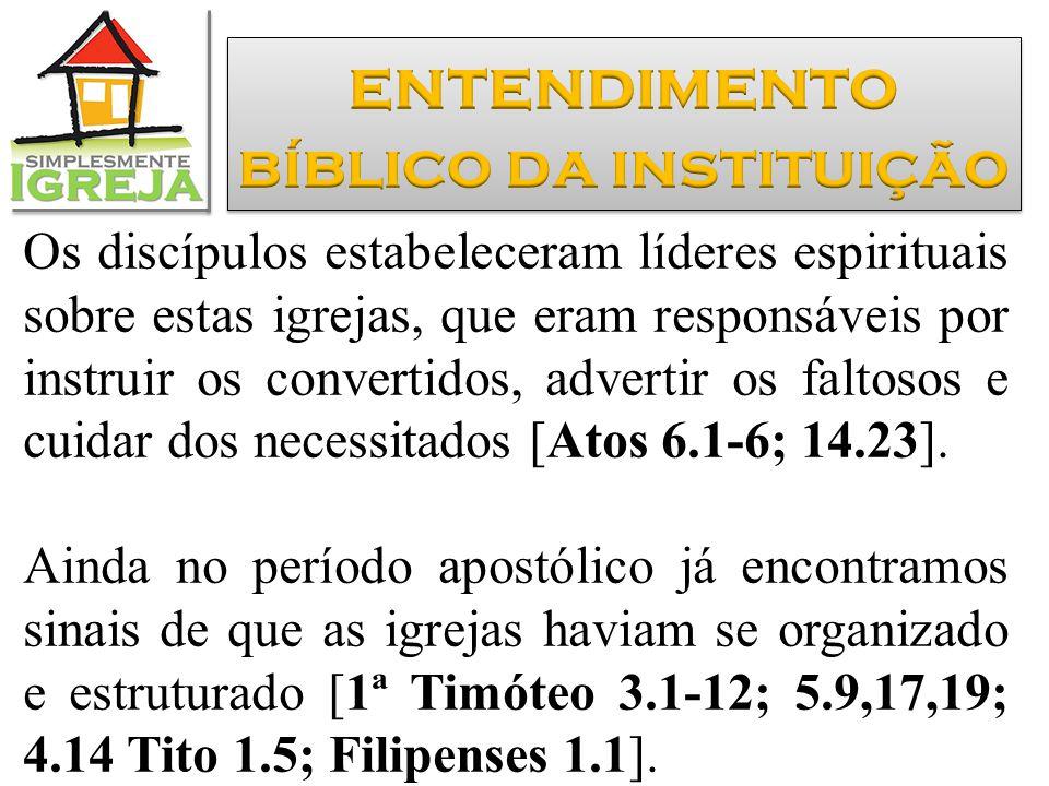 bíblico da instituição