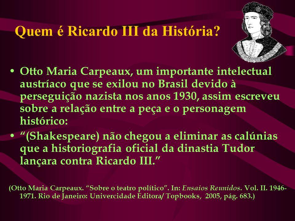 Quem é Ricardo III da História
