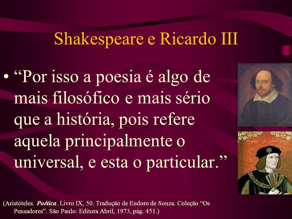 Shakespeare e Ricardo III
