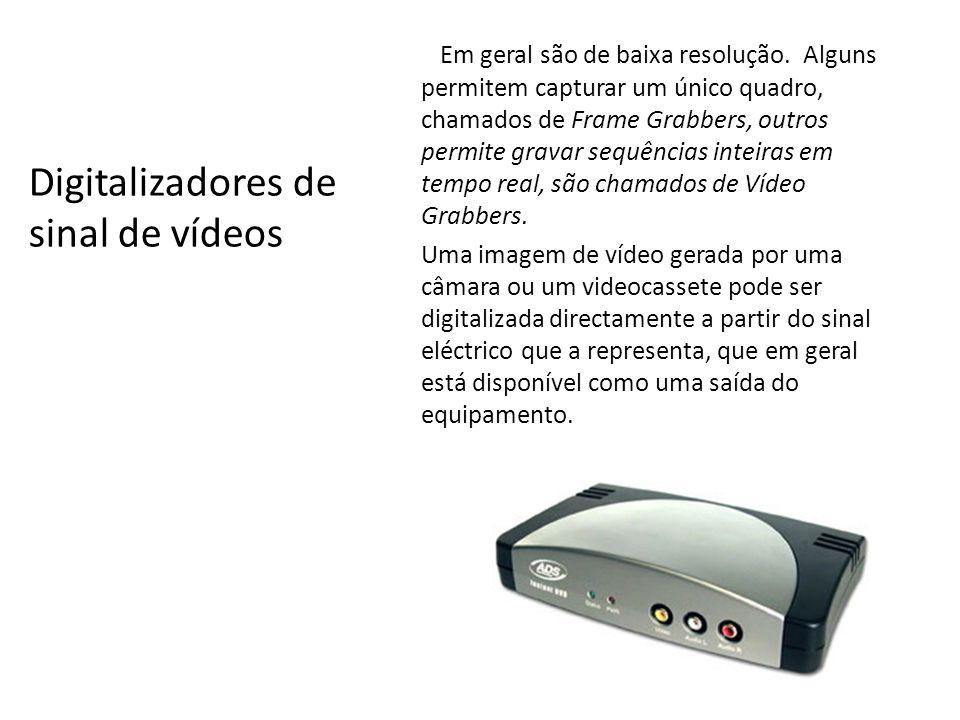 Digitalizadores de sinal de vídeos