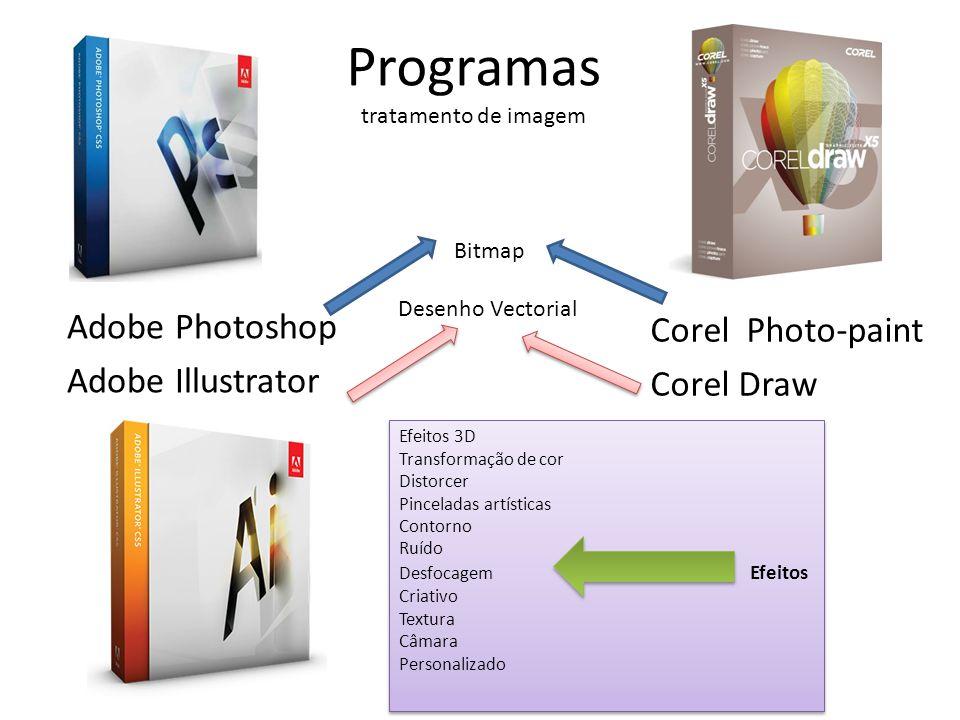 Programas tratamento de imagem