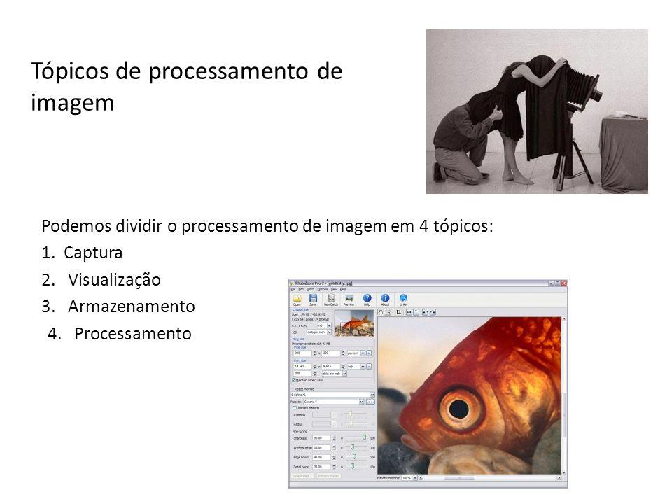 Tópicos de processamento de imagem