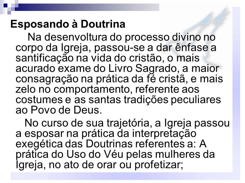 Esposando à Doutrina