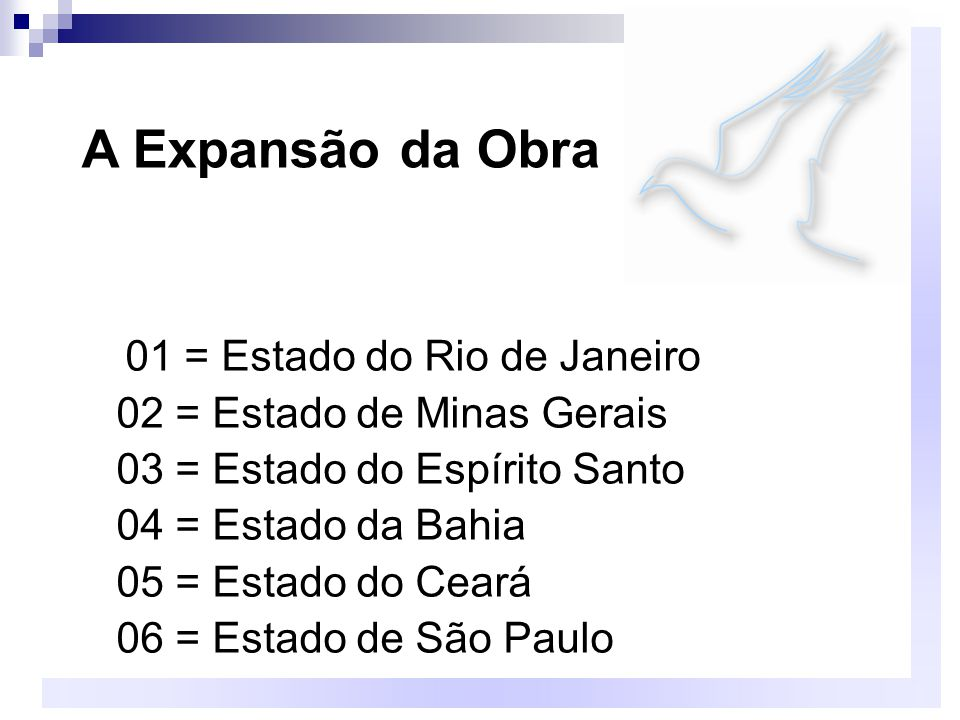 A Expansão da Obra 02 = Estado de Minas Gerais