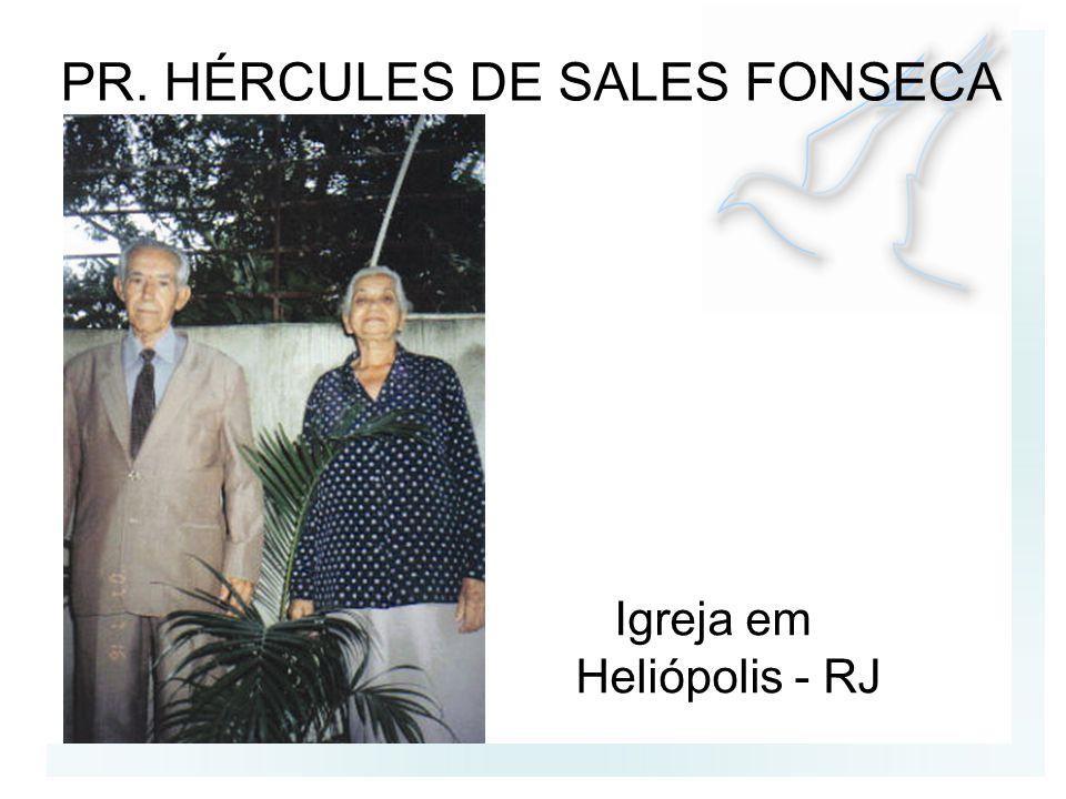 PR. HÉRCULES DE SALES FONSECA