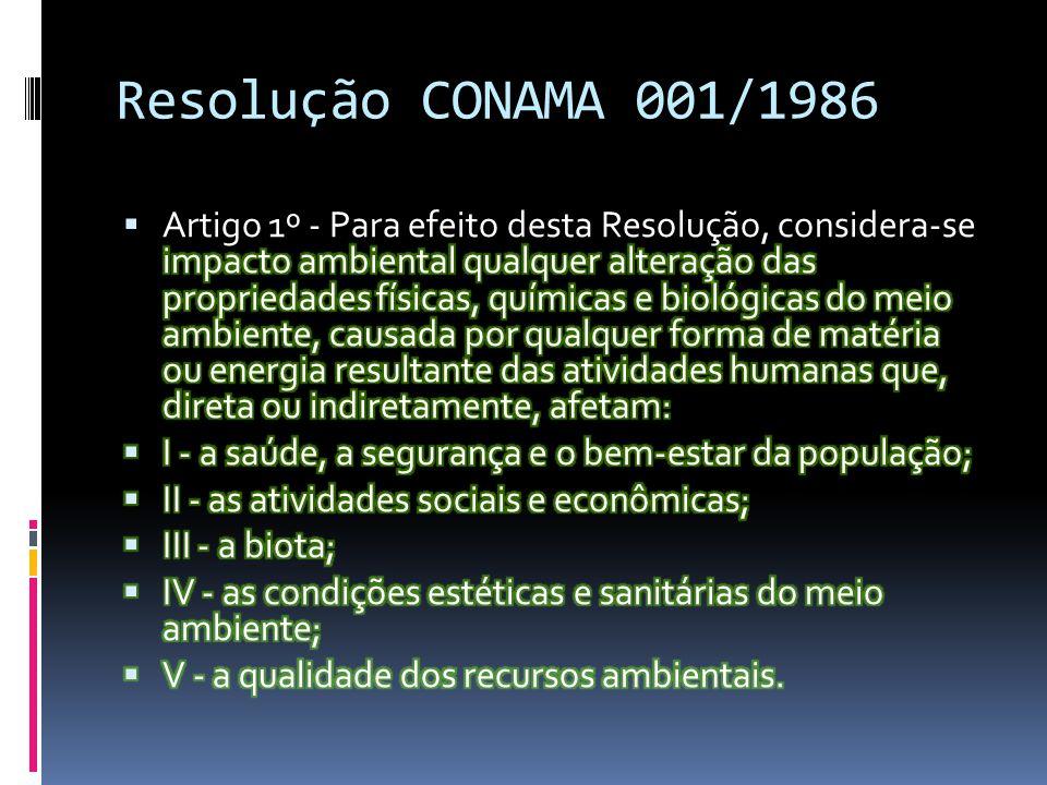 Resolução CONAMA 001/1986