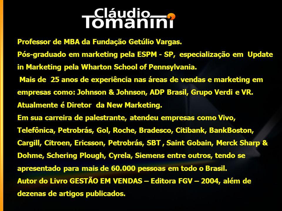 Professor de MBA da Fundação Getúlio Vargas