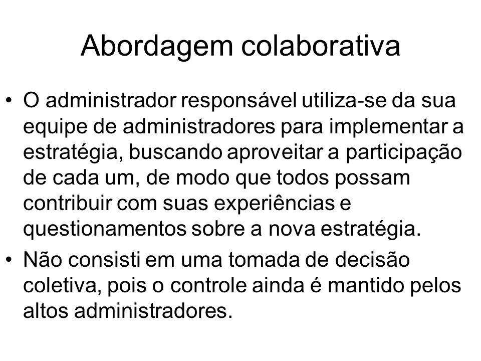Abordagem colaborativa
