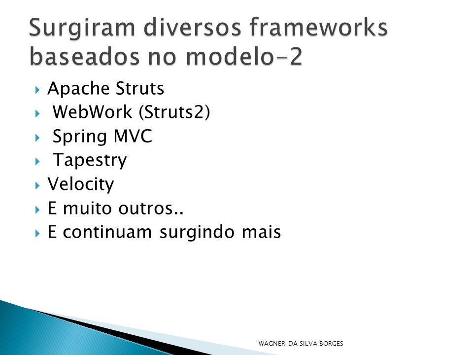 Surgiram diversos frameworks baseados no modelo-2