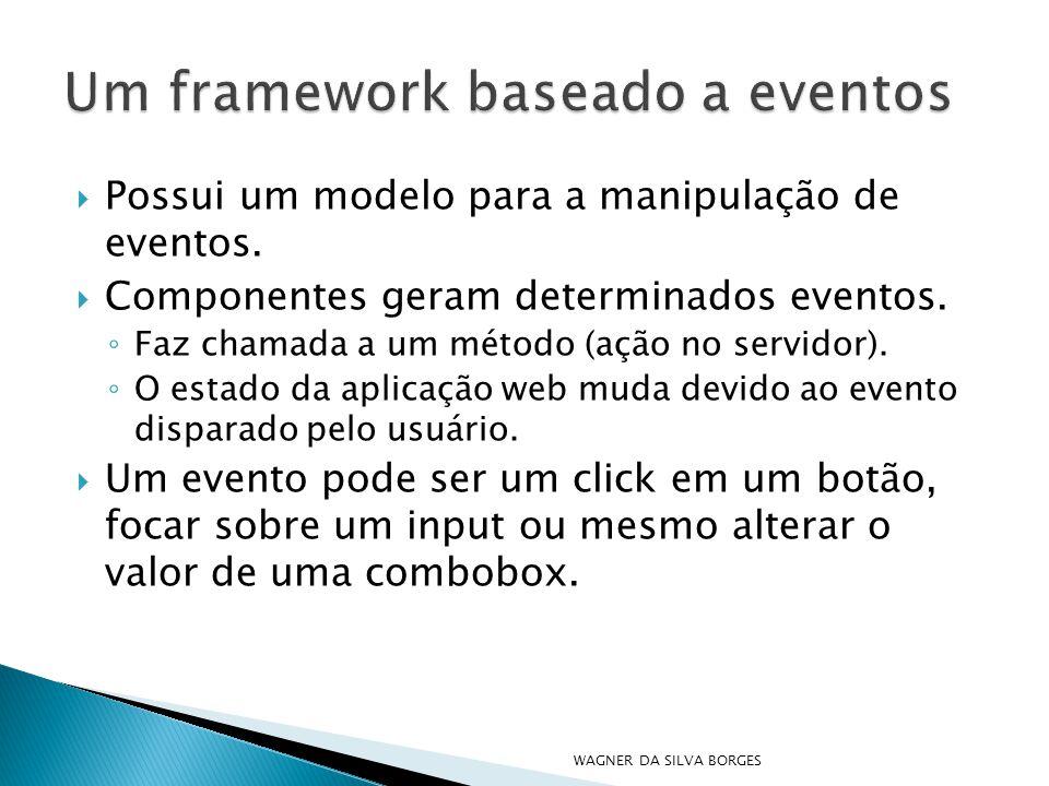 Um framework baseado a eventos