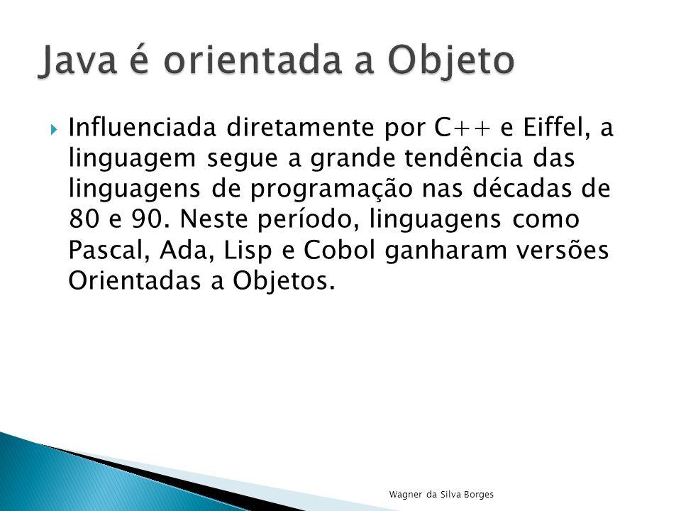 Java é orientada a Objeto