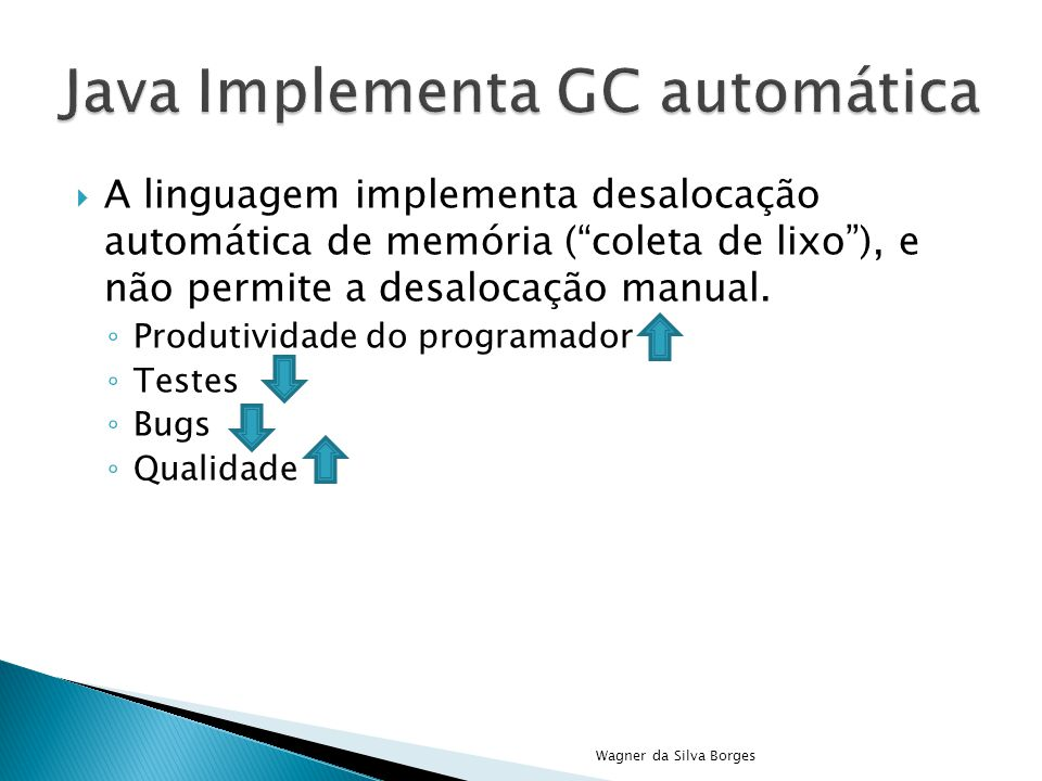 Java Implementa GC automática