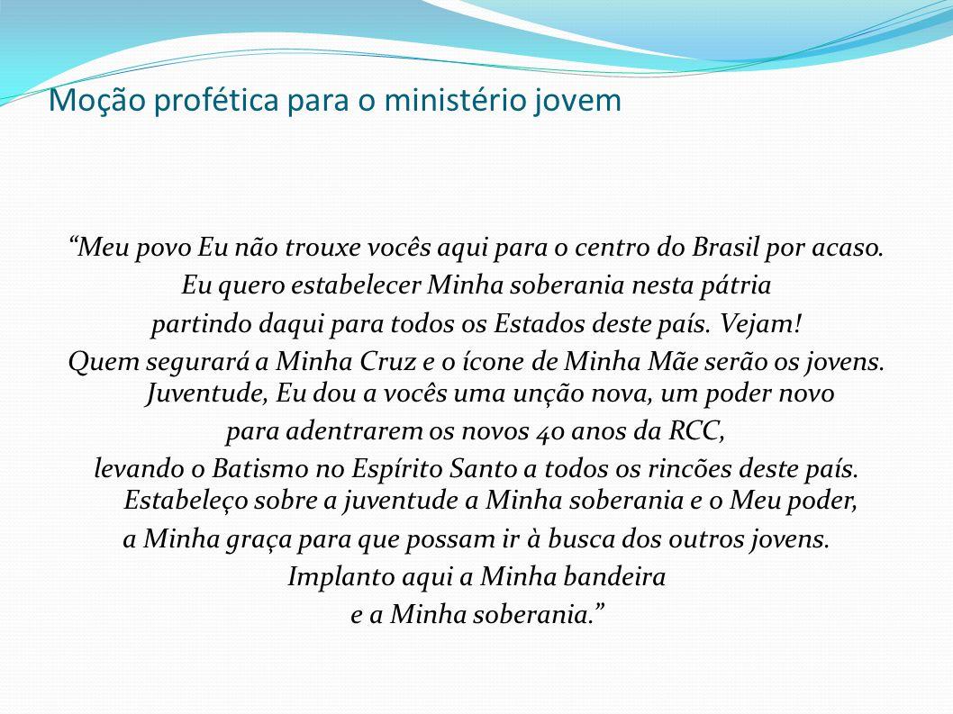 Moção profética para o ministério jovem