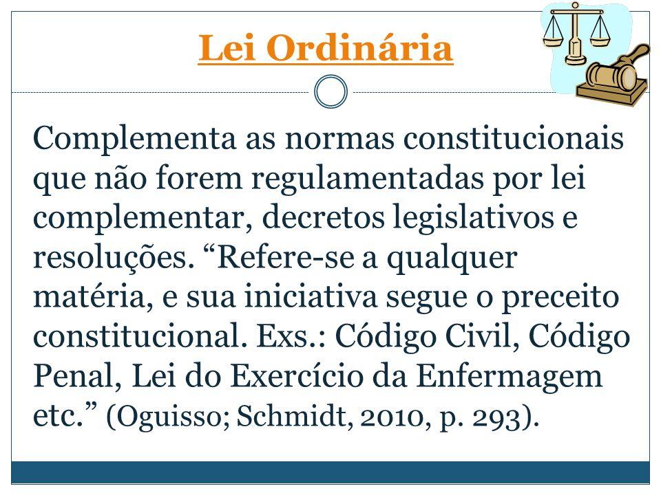 Lei Ordinária