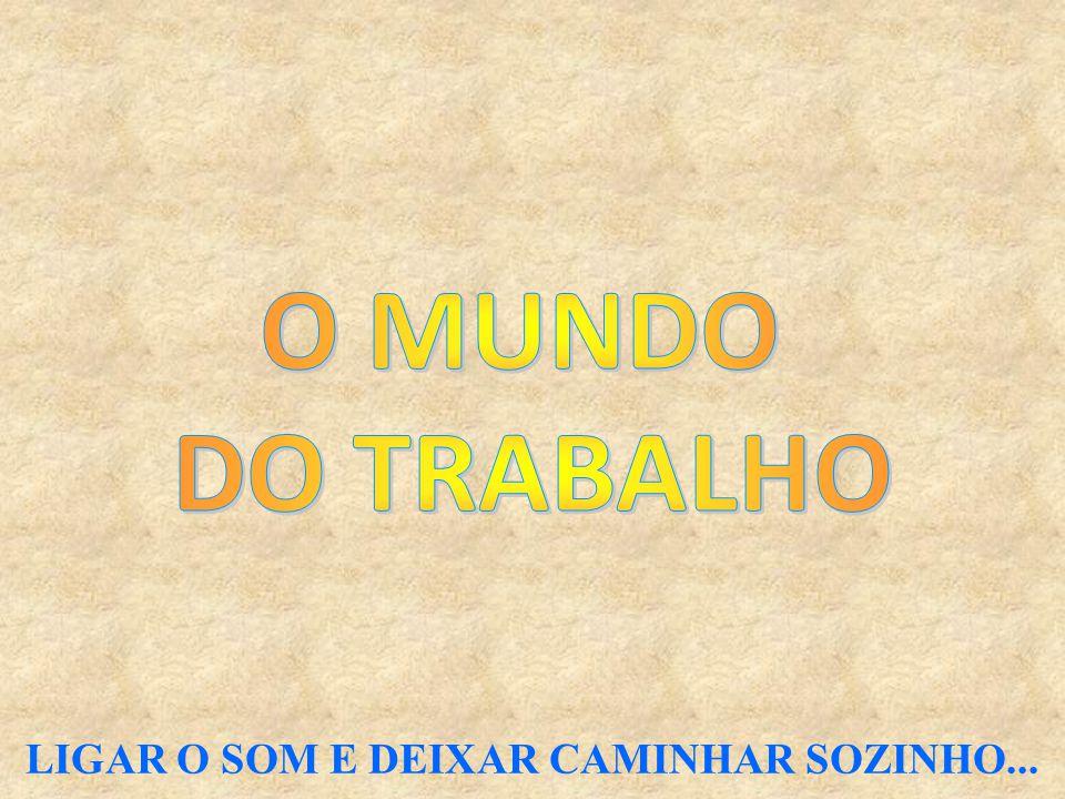 LIGAR O SOM E DEIXAR CAMINHAR SOZINHO...