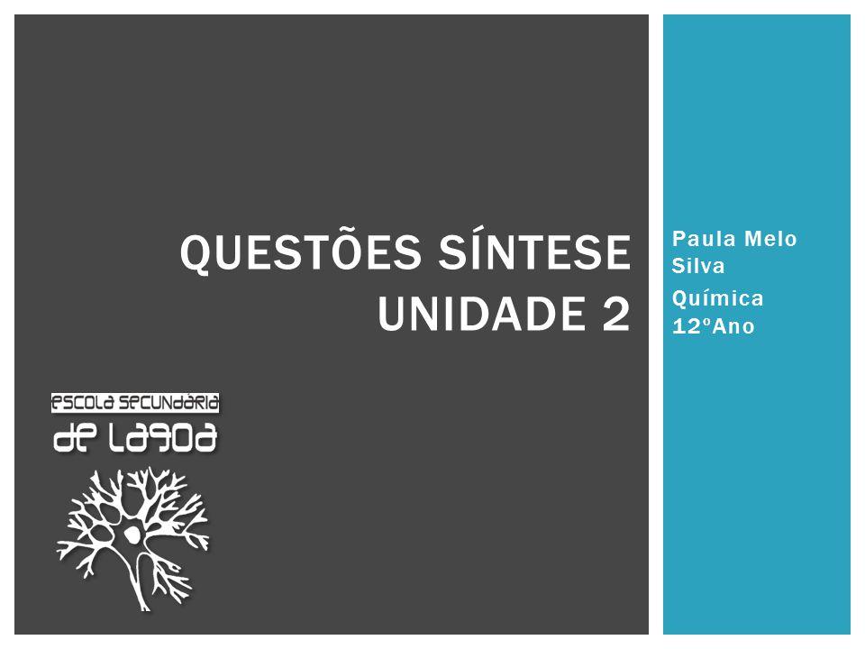 Questões síntese Unidade 2