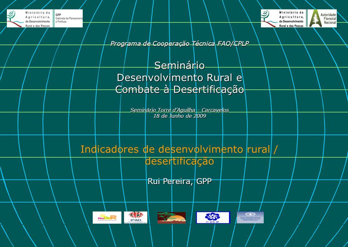 desertificação Rui Pereira, GPP