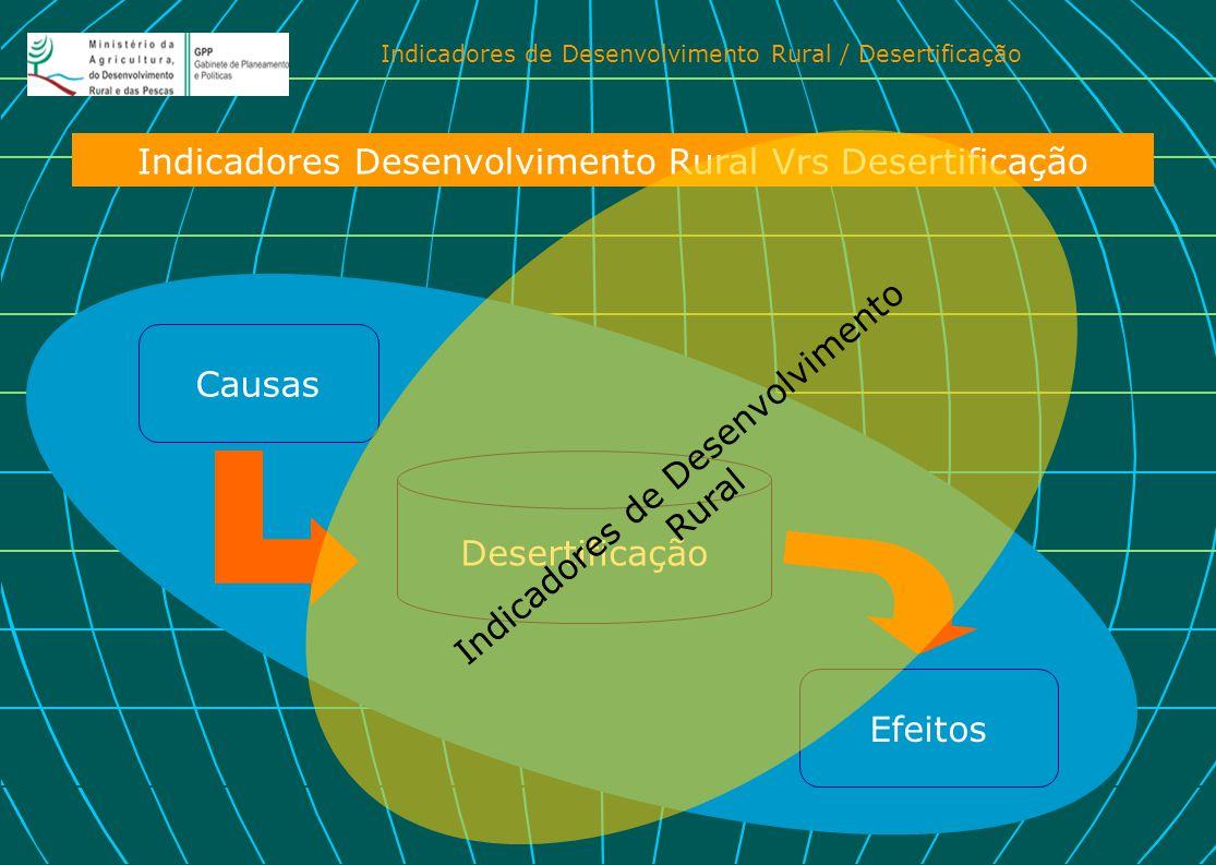 Indicadores Desenvolvimento Rural Vrs Desertificação