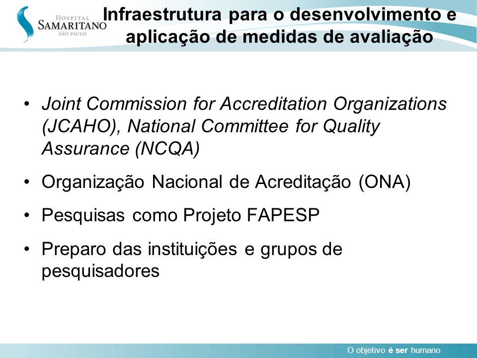 Infraestrutura para o desenvolvimento e aplicação de medidas de avaliação